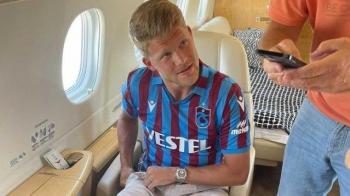 Bordo-Mavili taraftar heyecanlı! Andreas Cornelius, resmen Trabzonspor'da