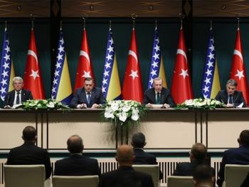 Bosna Hersek ile ticaret hacmimizi kısa zamanda 1 milyar dolara çıkarmayı hedefliyoruz