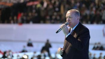 Son Dakika! Cumhurbaşkanı Erdoğan, AK Parti'nin 7. Olağan Büyük Kongresi'nde salondakilere sesleniyor