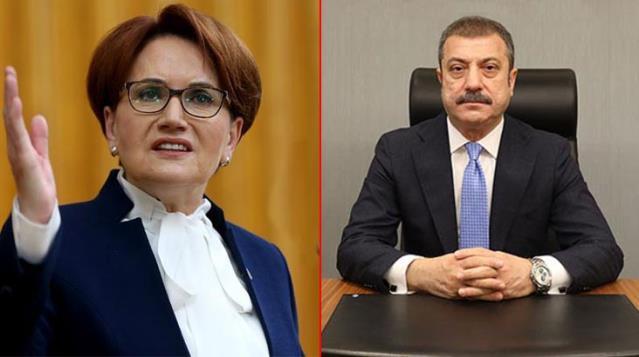 Akşener, yeni Merkez Bankası Başkanı'nı uyardı: Ayasofya İmamı da koltuğa talip, dikkatli ol