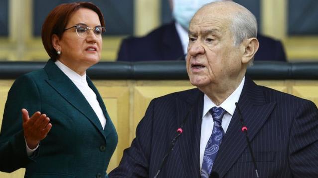 Bahçeli, 'eve dön' çağrısı yaptığı Akşener'e sert sözlerle yüklendi: Bir kadının bu denli ayıplı dil kullanması rezilliktir