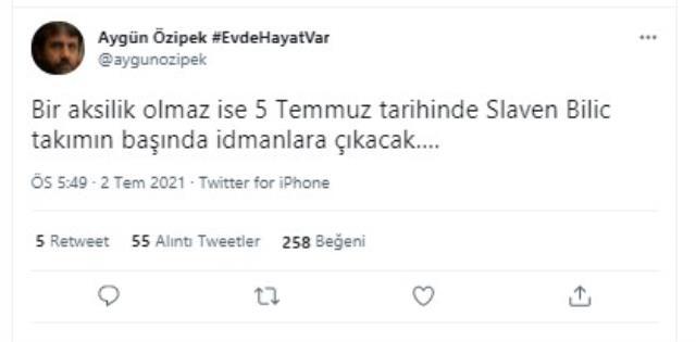 Fenerbahçe'nin yeni hocasının Slaven Bilic olduğu konuşuluyor