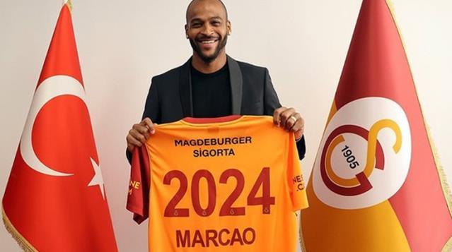 Yeni sözleşmeye rağmen zam isteyen Marcao, G.Saray'da krize neden oldu